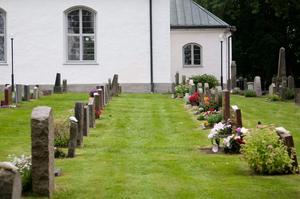 Bilden är en genrebild och har inget med skadegörelsen vid kyrkogården i Angelstad att göra.