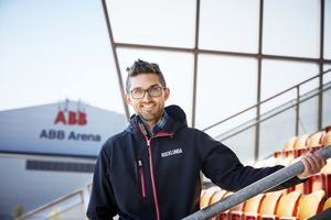 Björn Sandvall, teknisk chef på Rocklunda Fastigheter.