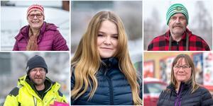 Fem röster. ST frågade fem personer utanför Ica-butiken i Stöde om de brukar köpa lotter och om de vunnit.