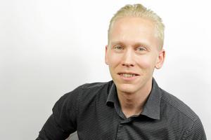 Johannes Nilsson, bredbandssamordnare på Skinnskattebergs kommun. Foto: Marco Helmisaari/Skinnskattebergs kommun