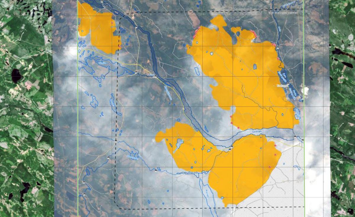 Karta Over Skogsbrander I Sverige.Sa Mycket Har Det Brunnit I Enskogen Och Angra Har Kan Du Se