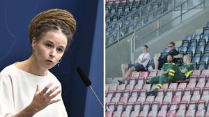 JUST NU: Regeringens förslag – 500 åskådare kan tillåtas på idrottsarenor från 15 oktober