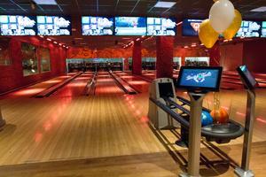 Bowlinghallen, på samma ställe som under Striketiden, men upprustad.