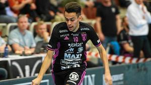 Omar Aldeeb får göra debut i landslaget. Bild: Elin Bergvik Eriksson.