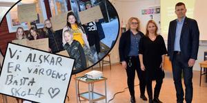 Det blev många reaktioner på kommunens möte om planerna för Idkerbergets skola.