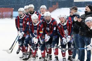 Det blev bara en säsong i division 1 för Katrineholm. Man tog åtta poäng i kvalet och vann gruppen före Kungälv med bättre målskillnad. Foto: Lasse Jansson.