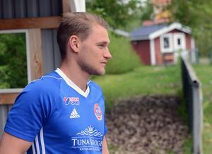 Christoffer Lindgren är tillbaka på Gyllevallen där han såg sin far Per ösa in mål i division 4- och 5-matcher på 90-talet.
