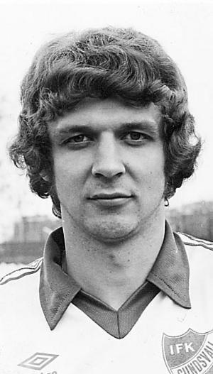 Ulf Lundberg gjorde en match i EM-kvalet 1979.