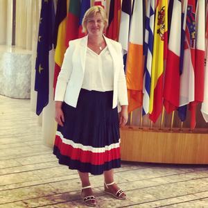 - Eurotanken bygger i grunden på liberala värderingar, säger Karin Karlsbro. Foto: Privat