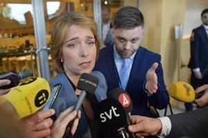 Annika Strandhäll. Misstroendeförklaringen mot henne har snarare dolt den långt viktigare sakfrågan om hur illa sjukförsäkringen fungerar. Foto: TT.