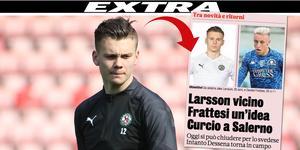 Italienska uppgifter hävdar på fredagsmorgonen att Jake Larsson nu bara är detaljer ifrån att bli klar för Serie A-klubben Brescia.