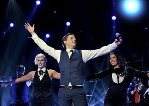 """David Lindgren till final med """"Shout It Out""""."""