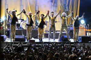 Ola Salo och the Ark avslutade sin sista turné med en konsert på Gröna Lund i Stockholm, i september 2011. Sommaren 2020 är de tillbaka på scenerna igen. Foto: Bertil Ericson/TT Bild