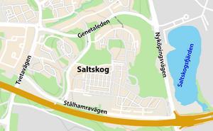Saltskog, stadsdel i Södertälje.