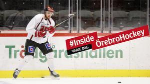10.45: Örebro Hockey laddar för hemmamatch – följ träningen här