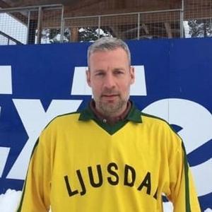 Andreas Heeger, Ljusdals nya tränare. Bild: M Vallin.