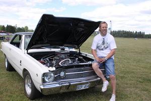 Vinnaren Lucas Nylund köpte sin Dodge Dart GTS från -69 när han var 18 år gammal.