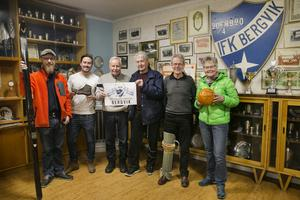 Sedan flera månader har IFK Bergviks 100-årsgrupp planerat för sitt jubileumsår. I gruppen ingår Henrik Karlsson, Anders Nordlén, Jan-Erik Westlund, Roland Eriksson, Anders Strömberg och Margareta Bergqvist.
