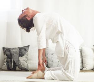 Kamelen – stärker ryggen, öppnar upp i bröstkorgen, balanserar höfter, påverkar njurar och binjurar.