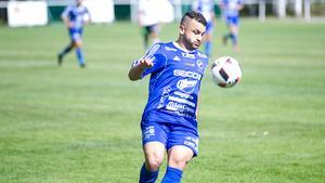 Adam Tumma blev matchvinnare med två mål i den andra halvleken för FSIK i lördagens match mot Sandvikens AIK.