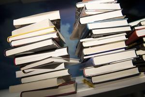 Vi behöver böckerna, skriver Margaretha Levin Blekastad i sin krönika.
