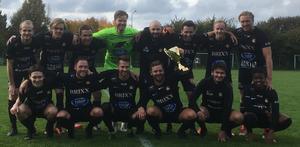 Åbyggeby FK segrade i herrarnas division 4 och spelar nästa år i trean. Läsarbild