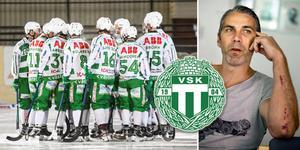 Sportchefen Ted Andersson och VSK har hittills pratat med fem av de åtta spelarna med utgående kontrakt. Foto: Victoria Mickelsson/Tony Persson