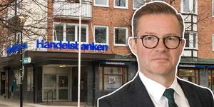 Mats Olsson på Handelsbanken ger lugnande besked till oroliga hälsingar.