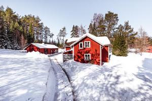 Lumsheden 300 i Åshammar, Falu kommun var det mest klickade dalaobjektet på Hemnet under vecka 16. Foto: Kristofer Skog/Husfoto