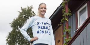 Erika Kinsey är Sverigeetta i både höjd och längd efter helgens tävlingar.