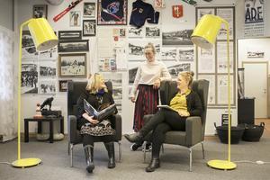 Jeanette, Maria och Evelina tror att många naturintresserade personer även vill ha olika kulturinslag i Åre.