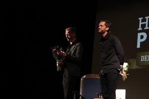 Daniel Hermansson och Robin Olovsson tog emot stående ovationer efter föreställningen.