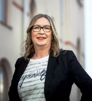 Helena Frisk, ordförande för Hyresgästföreningen Region Mitt. Foto: Pavel Koubek