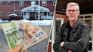 Landstingsrådet Gunnar Barke (S) är en av de högst betalda Älvdalsborna. Foto: Nisse Schmidt/Mats Laggar