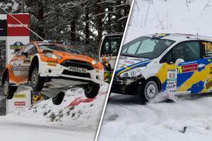 Fredrik Åhlin och Mattias Adielsson tillhör toppnamnen när rally-SM 2018 drar igång i Vännäs.