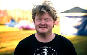 Jimmy Lundgren, 37 år, entreprenör och livsnjutare, Ljungaverk.