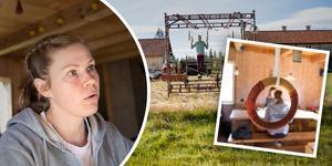 Elin Johanson tränar både i köket och utomhus – en träning som tagit henne hela vägen till VM.