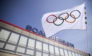 Om Stockholm får arrangera vinterspelen 2026 är Scaniarinken tänkt som en av OS-arenorna. Foto: Edis Potori och Eugene Hoshiko/AP Photo