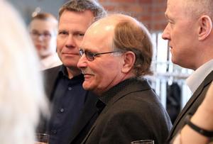 Anders Nässén var på plats då han nominerats  som Årets entreprenör av Ånge kommun.
