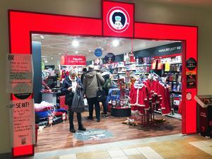 Den 23 december stänger BR Leksaker i Oskargallerian.