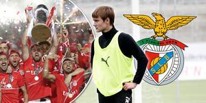 Noel Milleskog ska till Benfica i Lissabon och provspela för storklubben. Foto: TT och Fredrik Carlsson