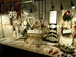 Bild från julmarknaden i Österbybruk.