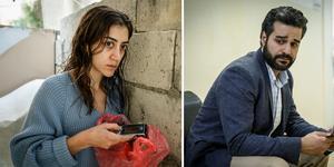 Pervin befinner sig i Syrien med sin man som är IS-terrorist, men hon längtar hem till Sverige. Suleiman är förtvivlad för att hans döttrar valt att ansluta sig till IS.  Foto: Johan Paulin /SVT