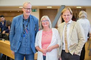 Staffan Norberg, Ewa Lofvar Gerdsdotter och Mats Siljebrand slutar inte bara som gruppledare, utan också i kommunfullmäktige, efter sammanlagt 75 år.