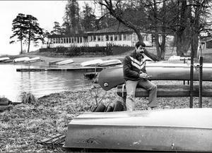 Vinterbilden 1989. Årets modell: Björn Johansson. Medeltemperatur: -1,1. Nederbörd 60,7. Foto: Ulf Johansson