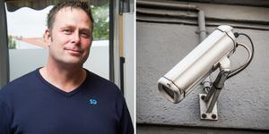 Sverigedemokraten Christer Borg vill att kommunen ska vara med tydlig med om det verkligen ska bli mera kameraövervakning.