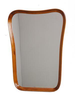 Spegel, 74x54 cm, 1960-tal, klubbades för 300 kronor på Effecta.