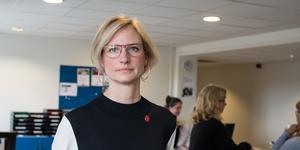 Åsa Eriksson (S), riksdagsledamot, Norberg.