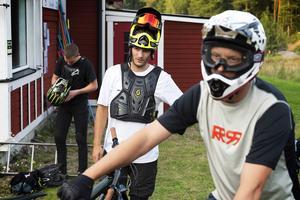 Philip Lundman har en ambition om att det ska bli möjligt att hyra cyklar och skydd i anslutning till backen.