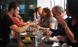 Från den första Food Walken på Lilla Tjuren. Bild: Dan Magnusson.